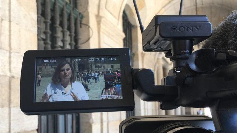 RSC y comunicación, pedaleando en Activa2 de TVE con la GAES Pilgrim Race