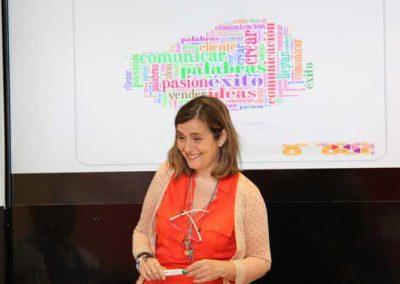 Rocío del Cerro. Curso de Comunicación Eficaz, en La Cámara de Comercio de Madrid.